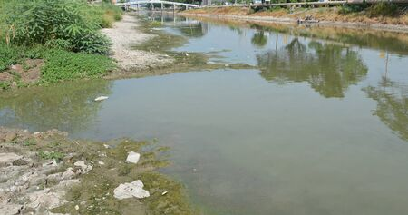 crack pipe: dehydrate canal in Thailand