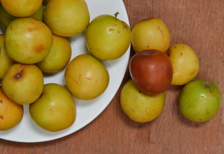 fruit trade: Chinese jujube on the dish