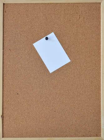 noticeboard: paper on noticeboard