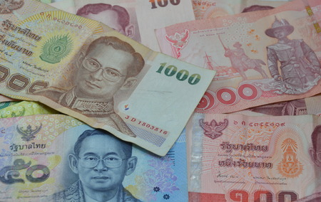 depress: Thai banknote