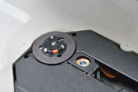 compact disc: compact disc reader and lens