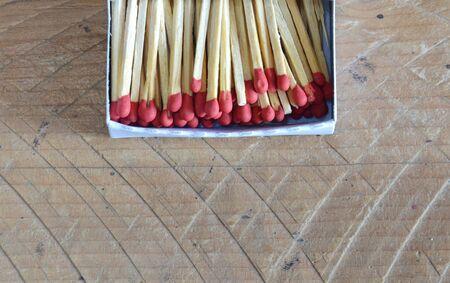 matchstick: matchstick in paper box