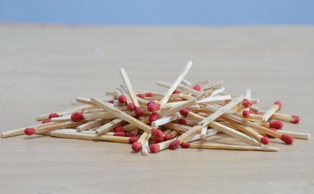 matchstick: matchstick batch on the floor