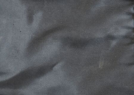 knobby: black synthetic fabric bag texture Stock Photo