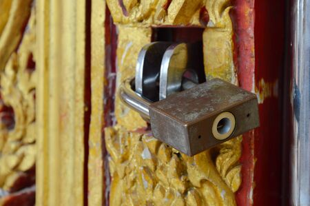 lock and key: master key lock on the door