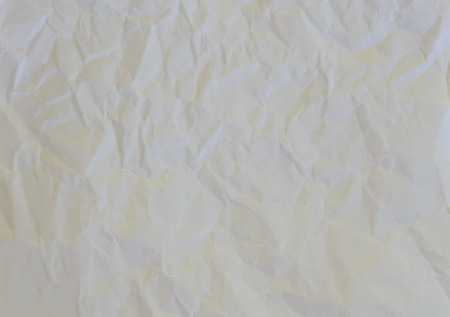 rumple: wrinkled white paper texture and background