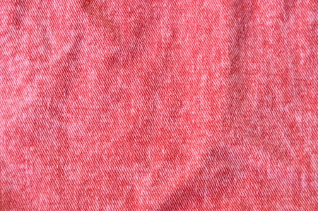 ruffle: red jean fabric texture and background