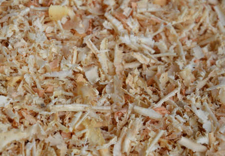 ruffle: close up of sawdust texture and background