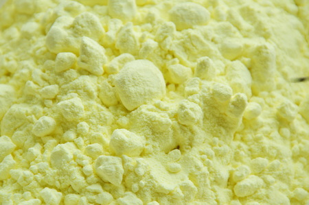 close up of sulfur powder texture and background Reklamní fotografie
