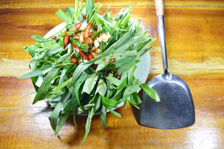 flipper: morning glory dressing sauce and iron flipper prepare to cook
