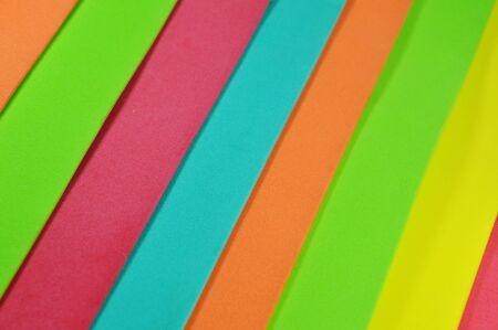 rubber sheet: color foam rubber board overlay Stock Photo