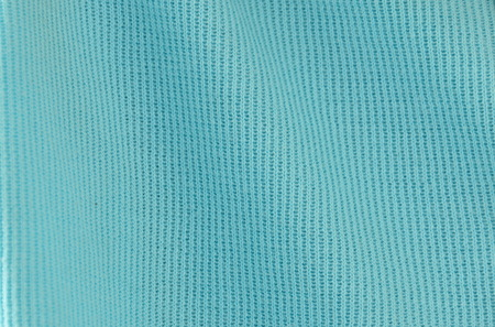 ruffle: blue spandex fabric texture and background Stock Photo