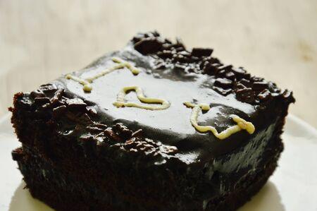 Schokolade Butter Kuchen Dekorieren Ich Liebe Dich Fur Valentinstag