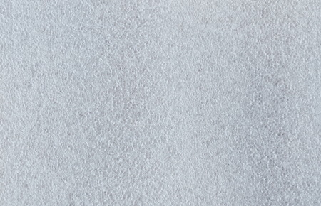 white soft foam sheet used for wrapped object texture and background