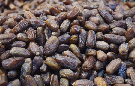 fresh date palm seed in market Stock Photo