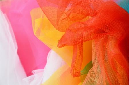 fond et texture en nylon de tissu coloré Banque d'images