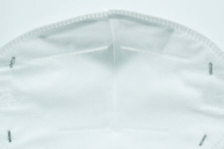 hygienic mask for protection nose and mouth on white background Stockfoto