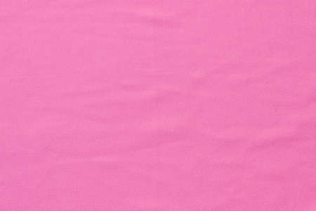 close up of pink fabric texture and background