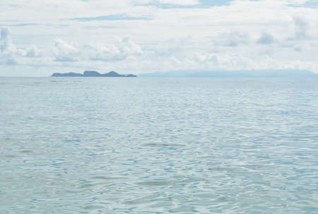 landscape of sea from Lipe island travel location in Thailand Imagens