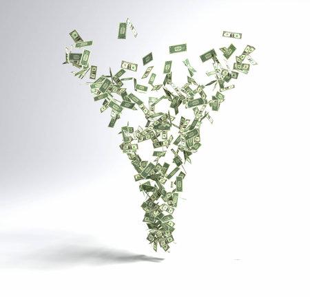 exponential: Money Tornado
