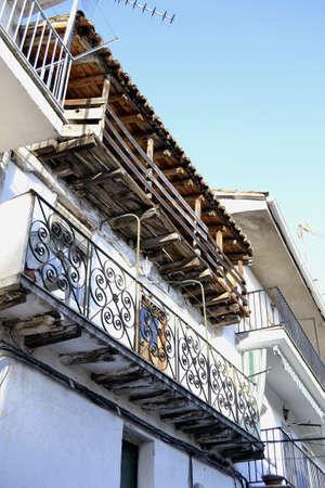 atilde: Balconies in Pedro Bernardo, &Atilde,%uFFFDvila