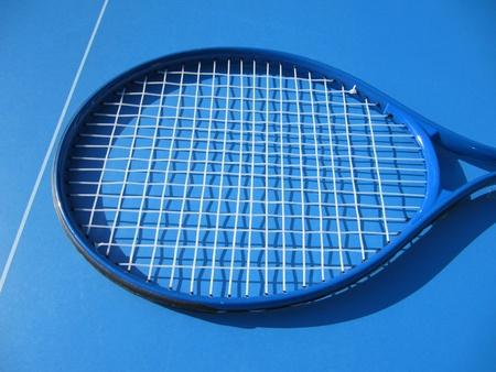 racquetball: Squash raqueta Foto de archivo