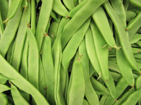 Green beans background.