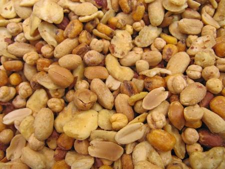 garbanzos: Frutos secos Foto de archivo