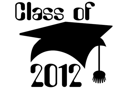 Class of 2012 Stock Photo - 12166373