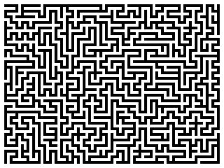 Labyrinth maze. photo