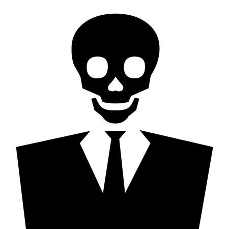 debauchery: Avatar of skull faced man lord death