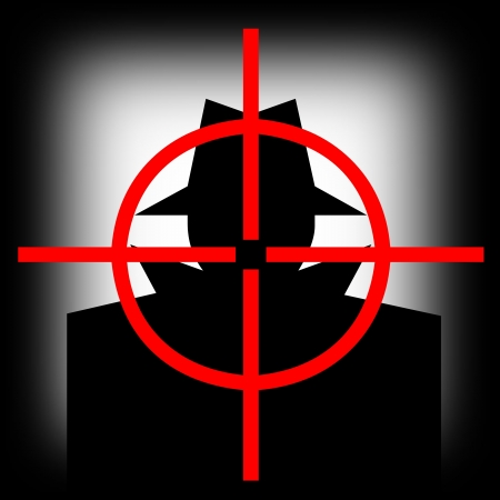 hijacker: Pistola de vista objetivo que apunta a que el secuestrador