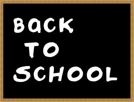 lyrics: Back to school blackboard