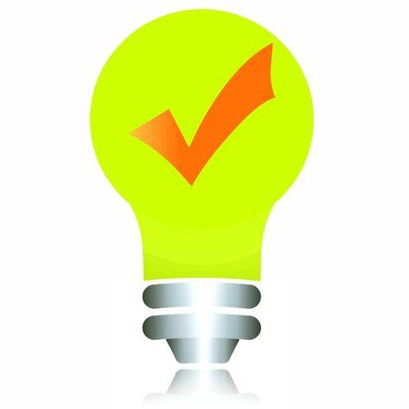 effectiveness: Energy efficiency, check mark in bulb.