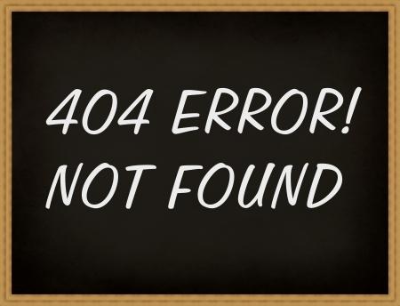 Blackboard 404 error not found! photo