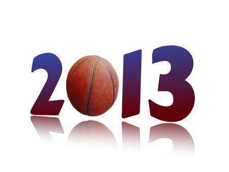 two thousand thirteen: Basketball 2013 wallpaper.