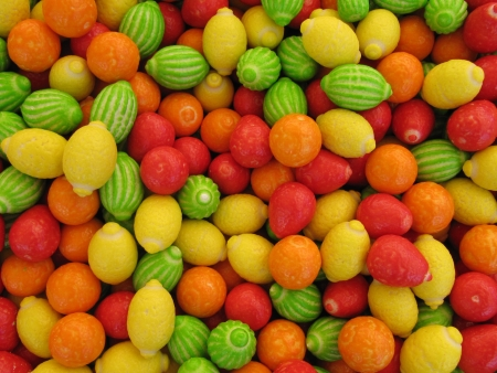 Fruit candy galore