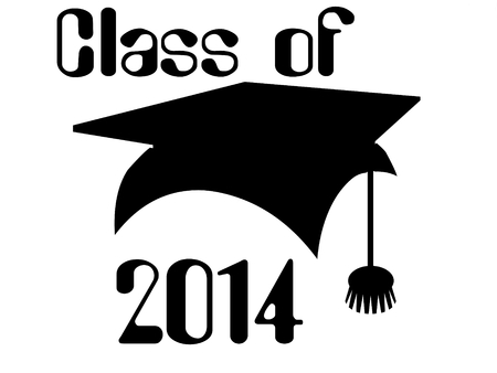 Class of 2014 Stock Photo