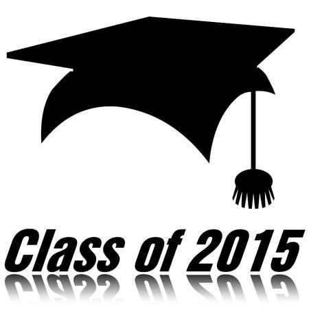 Class of 2015 Stock Photo