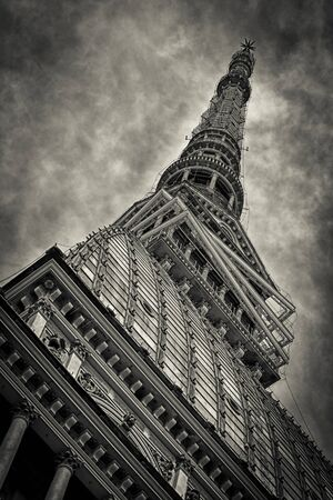 The Mole Antonelliana  is a major landmark building in Turin, Italy, named after its architect, Alessandro Antonelli. A mole in Italian is a building of monumental proportions.