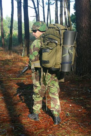 Military training combat Stock Photo - 6535150
