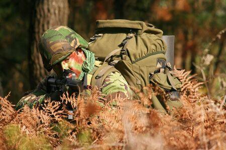 guerrilla: Military training combat