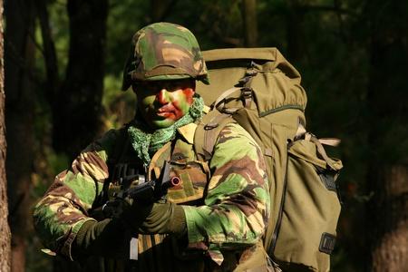 military training: Military training combat, forestjungle environment