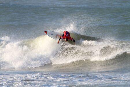 PENICHE, PORTUGAL - OCTOBER 11 :Damien Hobgood (USA) in Men Stock Photo - 13537811
