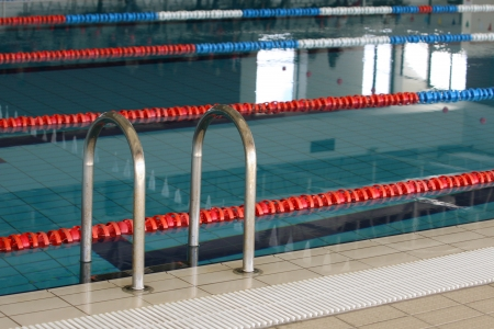 imagen piscina de competici�n Foto de archivo - 16803448