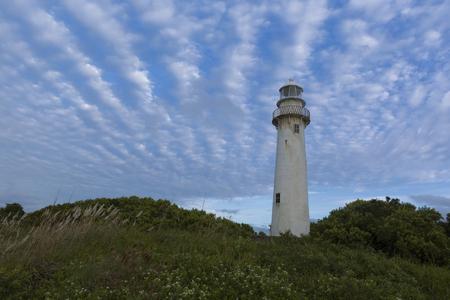 Shell Lighthouse in Ilha do Mel, Parana, Brazil. Banco de Imagens - 105981584