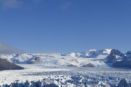 Perito Moreno Glacier near El Calafate In Argentina.