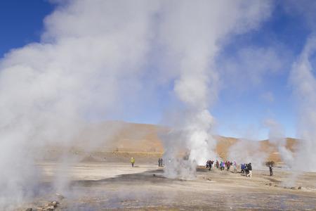 Tatio Geysers, San Pedro de Atacama, Chile. Imagens