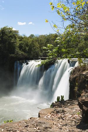 Sao Romao Waterfall in Chapada das Mesas.