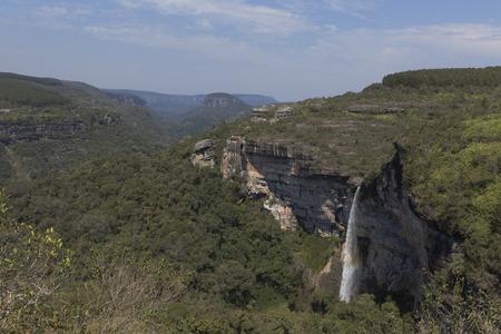 Corisco Waterfall In Senges PR. Imagens